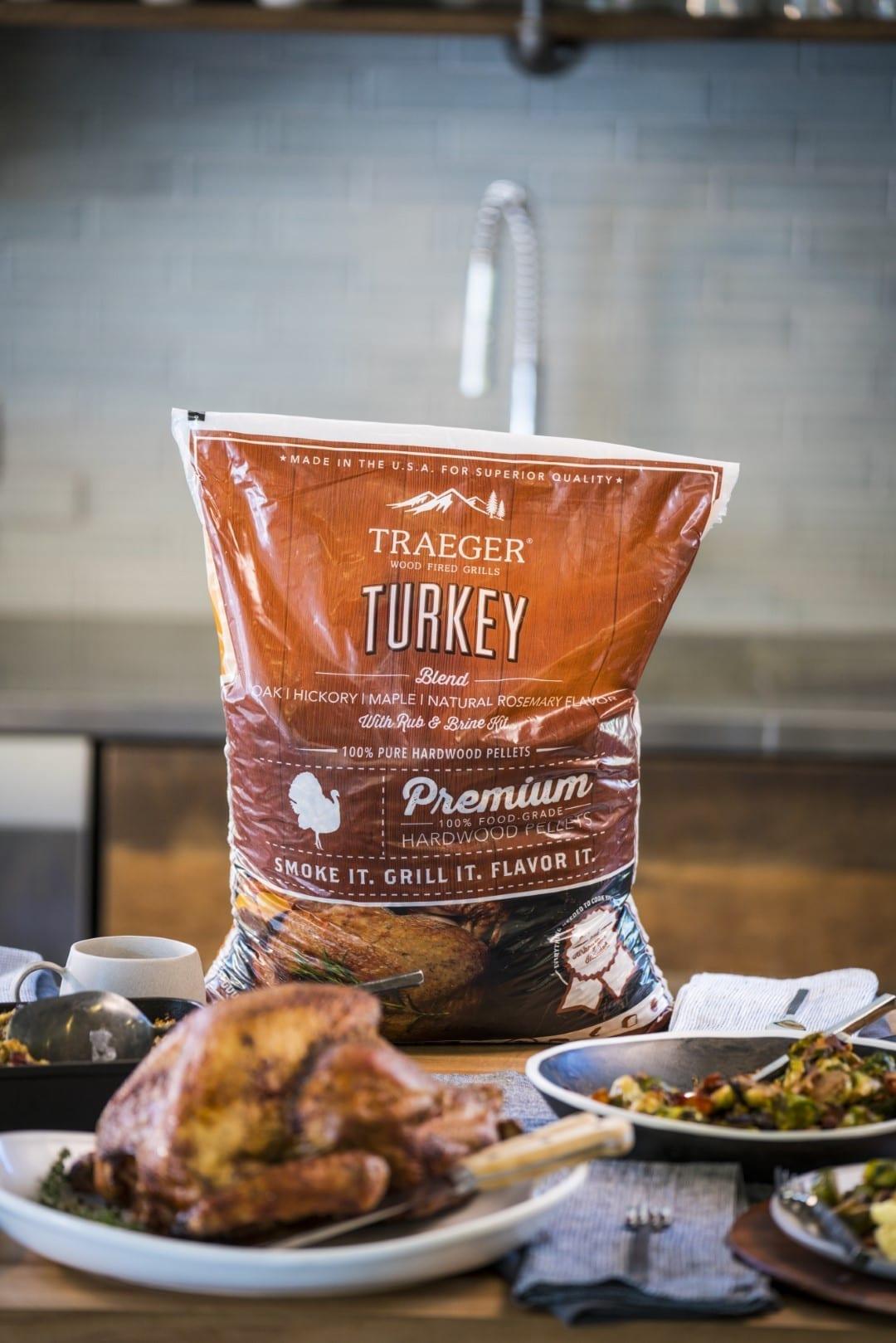 Traeger Pellets for thanksgiving roast