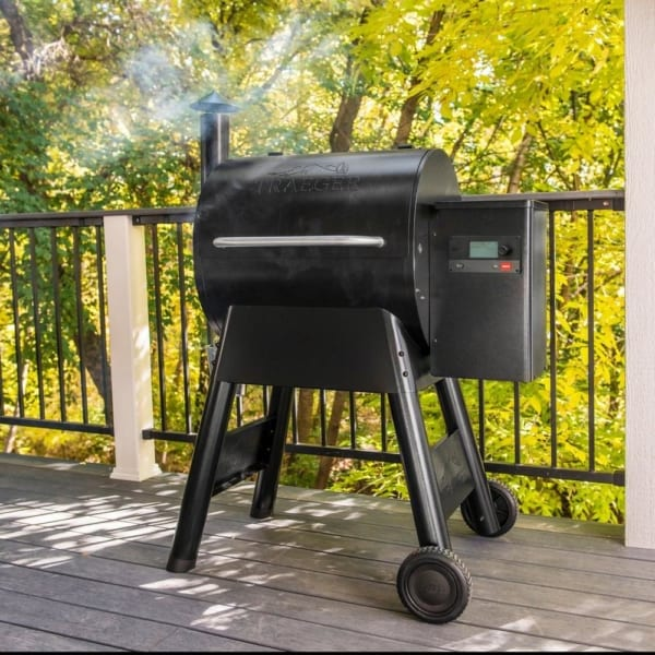Traeger Pro 575 pellet grill available in Portland